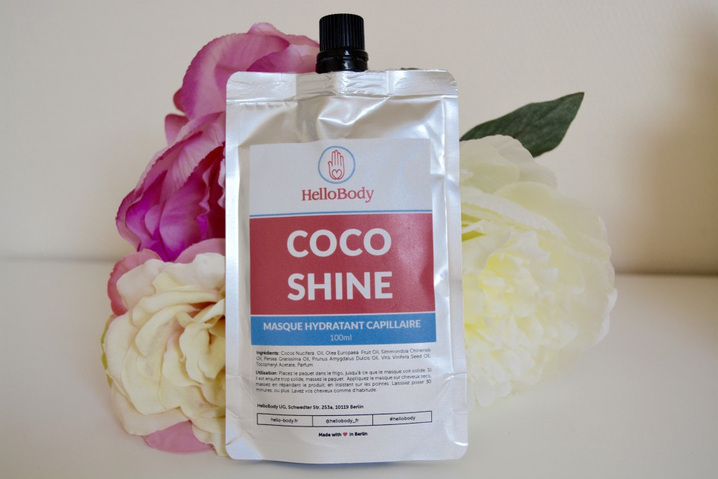 hello body coco shine hair mask aurore cherry. Black Bedroom Furniture Sets. Home Design Ideas