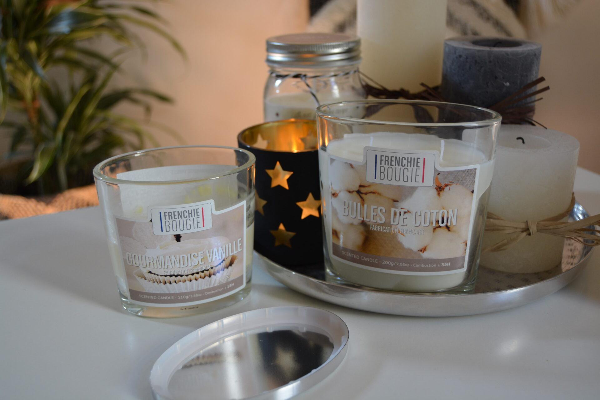mes bougies cocooning pour l 39 hiver bougie la fran aise. Black Bedroom Furniture Sets. Home Design Ideas